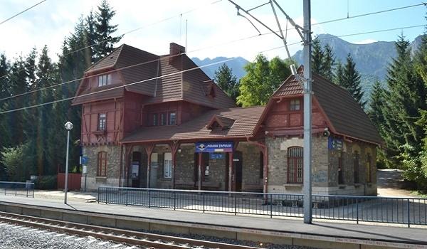Gara din Poiana Tapului