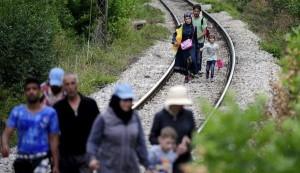 Amenintarea valurilor de emigranti in Europa