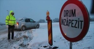 Lista drumurilor înzăpezite pe Valea Prahovei