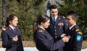 Inscrierea la scoala militara din Breaza